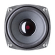 speaker on a white background