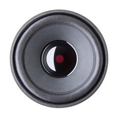 speaker on a white background