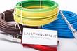 Notiz Wartungsarbeit für Internet oder Baustelle
