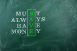 Must Always Have Money poster