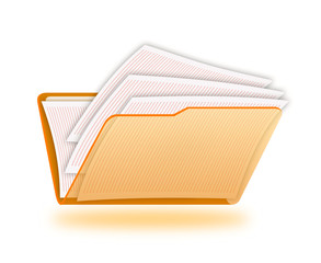 Folder with a documents