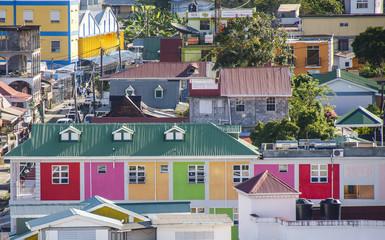 Colrful Buildings on Barbados