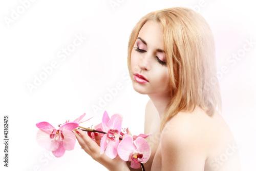 Fototapeten,portrait,sexy,frau,rosa