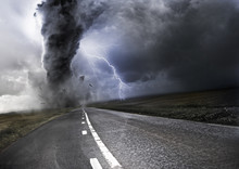 Krachtige Tornado