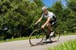 Rennradfahrer im Wettkampf