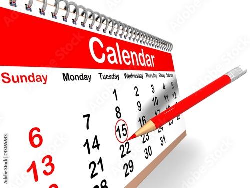 Напоминание в календаре