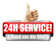 24H Service! Button, Icon