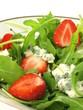 Gorgonzola in salad