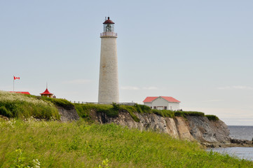 Cap des Rosiers Lighthouse, Quebec, Canada