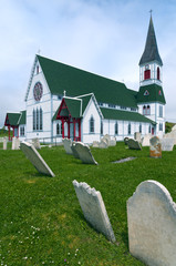 St Paul's Church, Trinity, Newfoundland