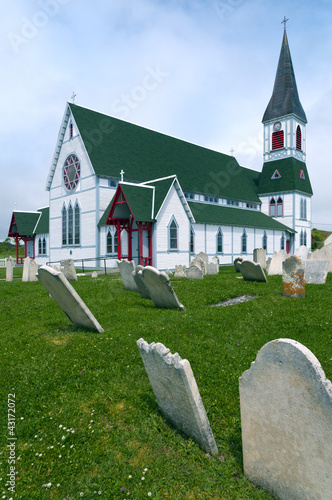 St Paul's Church, Trinity, Newfoundland