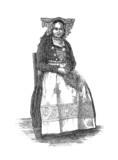 Scandinavian traditional Woman poster