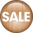 wooden button SALE