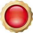 Button Siegel Gold+Rot
