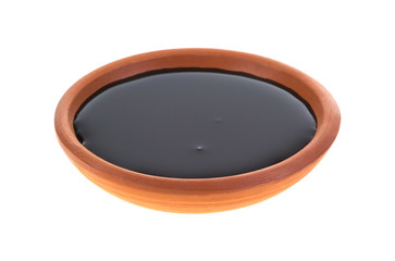 Dish of molasses