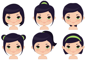 Hairstyles Set