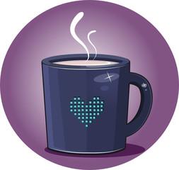 Mug Pixel Heart