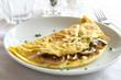 Mushroom Omelette - 43177634