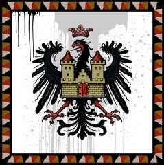 coat of arms heraldic eagle