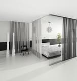 Fototapety Extravagant Exclusive Design Bedroom | Architecture Interior