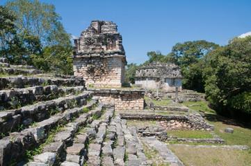 Archaeological site of Yaxchilan, Chiapas (Mexico)