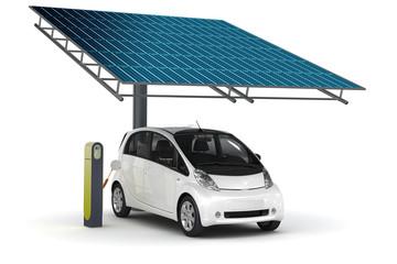 Solar-Tankstelle