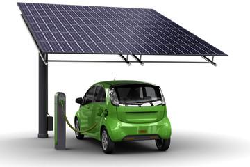 Grüne Energie Tanken