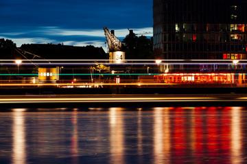 Abends im Zollhafen