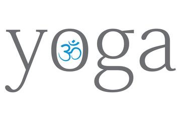 yoga - om abstract