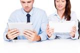 am tablet arbeiten