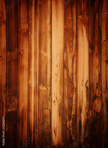 grunge brown wood panels.