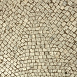 fragment of cobbled pavement as background, Italy, Europe