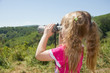 Child and nature. Environment supervision in the field-glass.