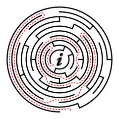 Circular labyrinth