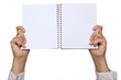 Hand Hold Notebook