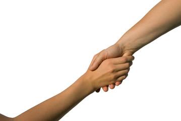 Helfende Hand, Unterstützung