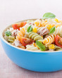bowl of pasta salad