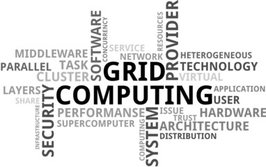 Grid Computing wordcloud