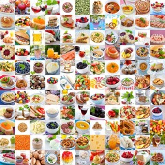 11 x 11 food images
