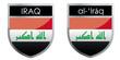 Iraq flag emblem