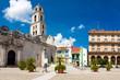 The square of San Francisco in Old Havana