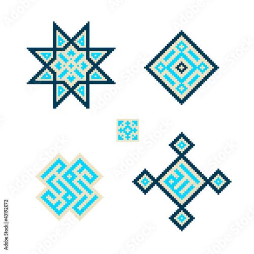 orientalisches mosaik muster 3 stockfotos und. Black Bedroom Furniture Sets. Home Design Ideas