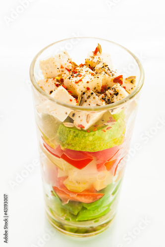 Vegetable verrine