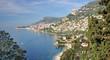 Blick in die Bucht von Monaco an der Cote d`Azur