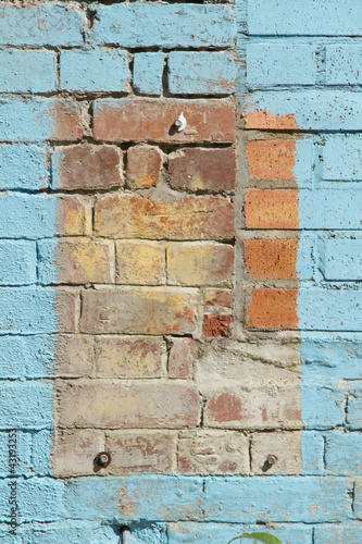 Brick background.