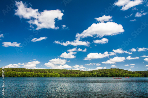 Fototapeten,abenteuer,canoe,wolken,umwelt