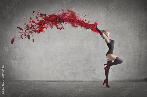 Sensual dancer