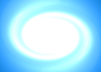 Light blue swirling background