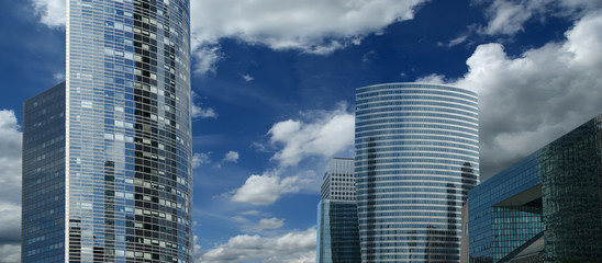 La Defense, commercial and business center of Paris, France