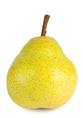 Yellow ripe pear